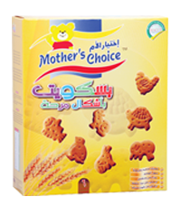 Mother Choice Teething Biscuits: Fun Shape