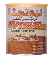 Nutrita Chocolate drinks :  Balanced nutrition for the whole family