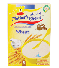 Mother's Choice Baby cereals Wheat with milk