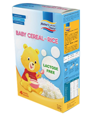 Lactose Free Rice Cereal